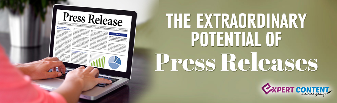 The Extraordinary Potential of Press Releases
