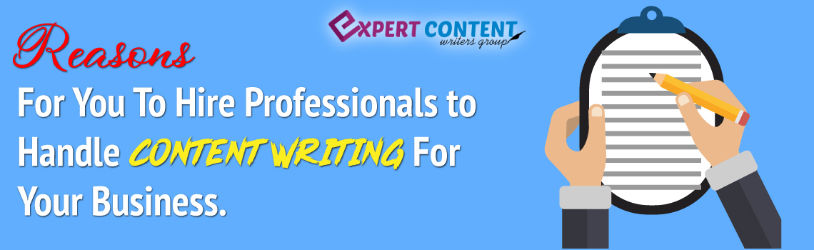 Hire Professional Content Writers For Your Business